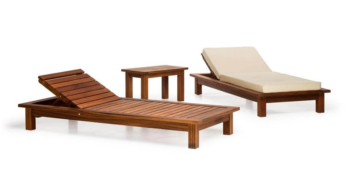 Muebles De Exterior En Madera Para Jardines Piscinas