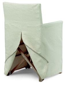 RE 2, Cubierta desmontable para una silla plegable, para catering