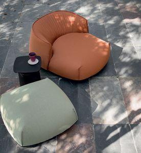 Brioni outdoor armchair, Sillón lounge al aire libre
