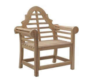 Vittoria 0305, Sillón de madera para jardín