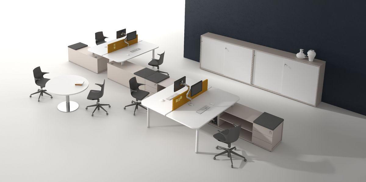 Estaciones de trabajo modular ideal para oficinas y centros de ...