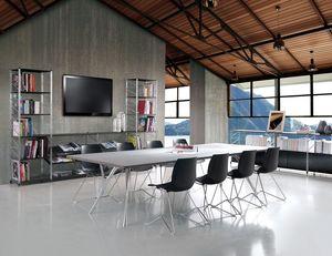 Socrate meeting room, Muebles modulares para salas de reuniones y oficinas