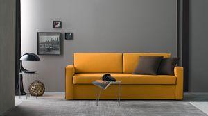 Argo, Sofá cama tapizado en tela