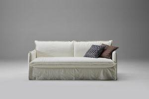 Clarke, Sofá cama suave e informal.