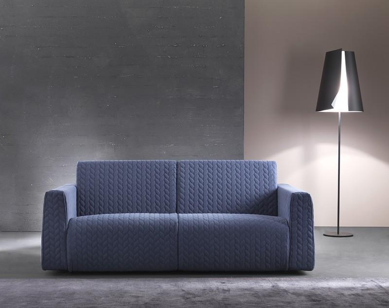 Sofá cama moderno con marco de madera idfdesign