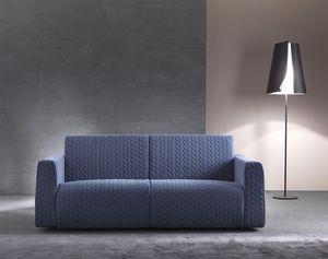 Dodo, Sofá cama moderno con marco de madera