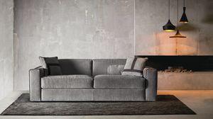 Ellington, Sofá moderno que se convierte en una cama cómoda.