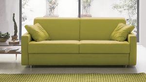 Eric, Sofá cama de diseño simple.