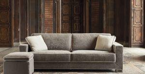 Garrison 2, Sofá cama con tapicería extraíble.