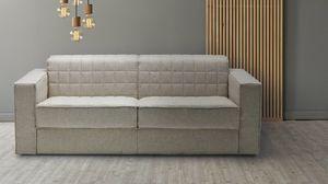 Grand Lit, Sofá cama de líneas simples.