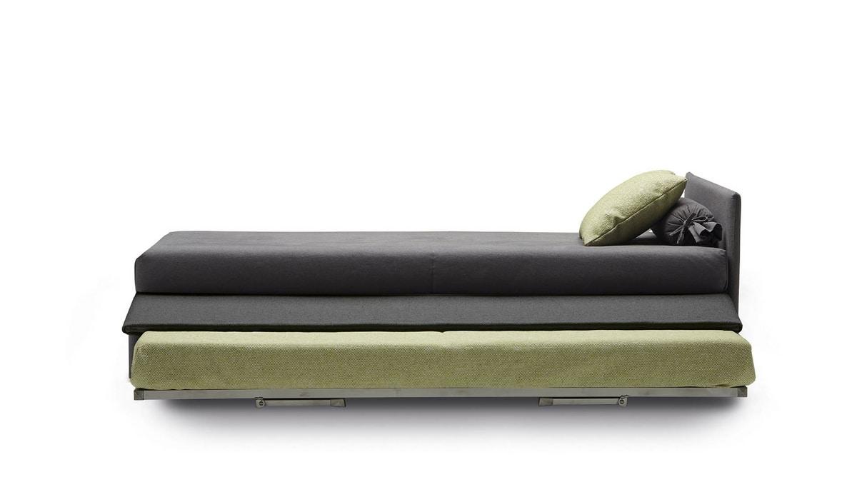 Jack, Colección de sofás cama prácticos y versátiles.