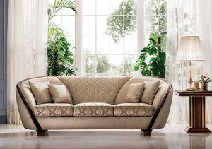 Modigliani sofá de 3 plazas, Sofá refinado y práctico.