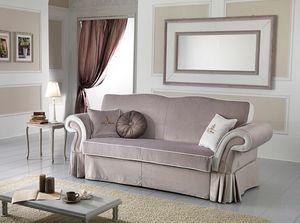 MORFEUS, Sofá cama de estilo clásico