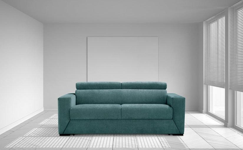 Morphing, Sofá cama de cuero ecológico