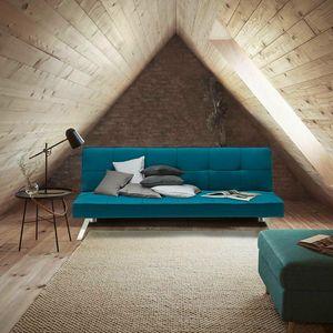 Sofá cama de tejido 2 plazas diseño moderno GEMMA clic-clac - DI319MIBL, Sofá cama de gran elegancia y confort.