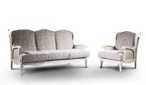 Wien, Rústico sofá cama litera, tela extraíble, varios acabados
