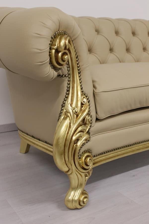 Sofás sofá de la oficina copetudo casas de lujo clásicos | IDFdesign