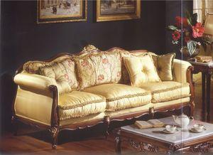 3315 SOFA, Sofá de tres plazas para los salones de estilo clásico de lujo