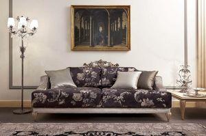 337D, Sofás clásicos de lujo para sala de estar.