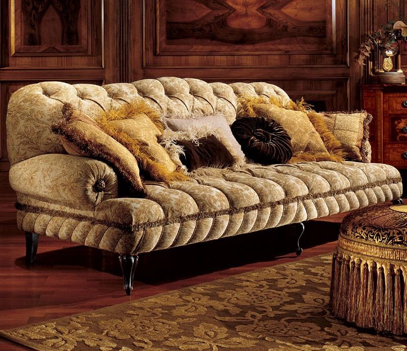 Albina sofa, Sofá de tres plazas con relleno acolchado