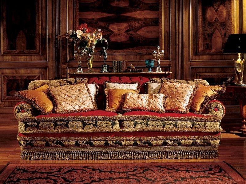 Angelica sofa, Sofá de lujo, hecho a mano, estilo clásico