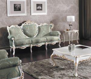 Art. 3140, Majestuoso sofá tallado