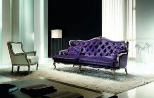 Avalon, Sofá clásico, lleno de glamour