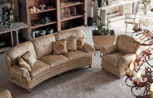 Camilla Ring, Tapizar un sofá de 3 plazas en estilo clásico y lujoso