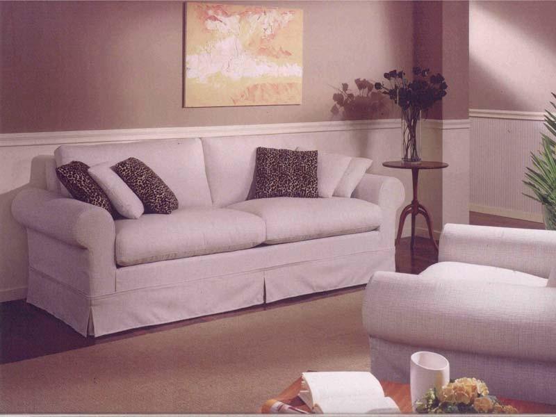 Copenhagen Sofa, Sofá clásico para la sala, con la tela extraíble