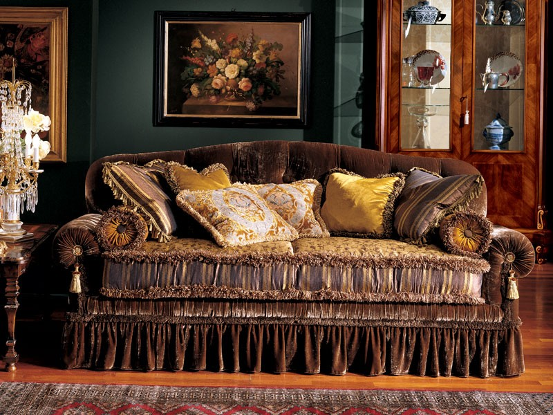 Elena sofa, Sofá clásico de lujo