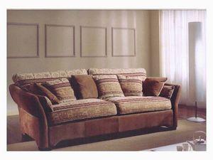 Ginevra Sofa, Sofá de estilo clásico para la sala de estar