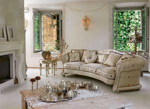 Giselle ring, Lujo clásico sofá, línea sinuosa