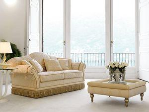 Glicine, Sofá de estilo clásico de lujo, salones refinados