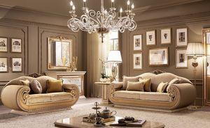 Leonardo salón, Salón clásico contemporáneo, para villas