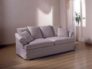 Marlene Sofa, Sofá de la sala de estar, con tapicería de tela extraíble