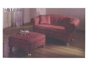 Matilda Sofa, Sofá de estilo clásico, para la recepción y sala de estar