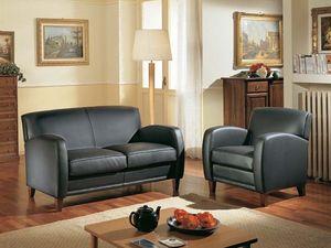 Maxima Sofa, Cómodo sofá de dos plazas, hecho con materiales nobles