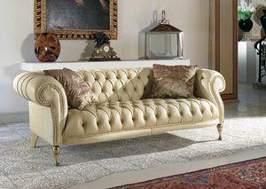 Mozart, Sofá clásico acolchado para salas de estar