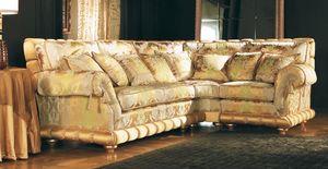Nobile modular, Corner, modular, acolchado, sofá clásico