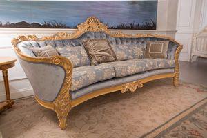 Nobile sofá, Sofá hecho a mano