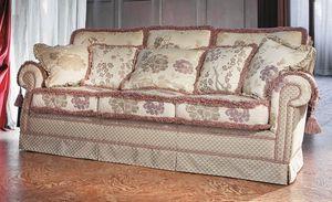 Pamela, Sofá de lujo clásico de salón