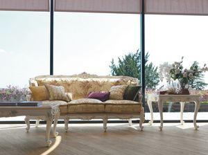 Serena sofá, Sofá clásico, artesanal
