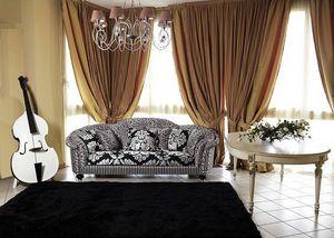 Silvia sofa, Sofá clásico de lujo de salón