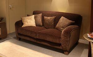 Tango, Sofá tapizado de estilo clásico, hecha totalmente a mano