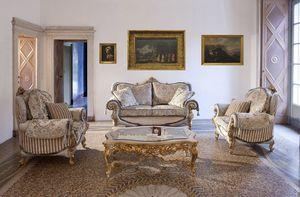 Touileries, Sofá y un sillón para salas de estilo clásico