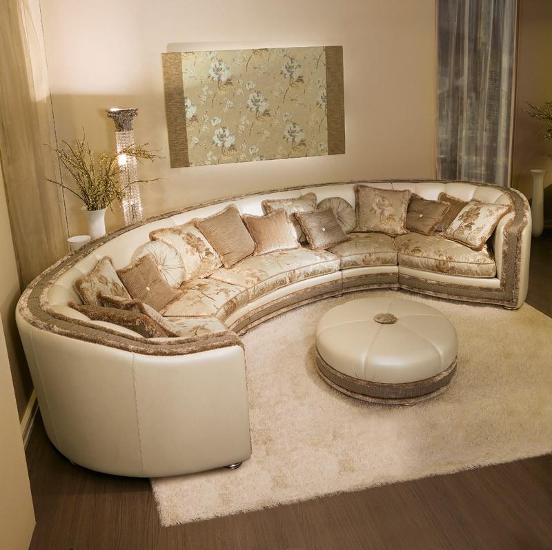 Venere, Corner sofá clásico de estilo contemporáneo originales