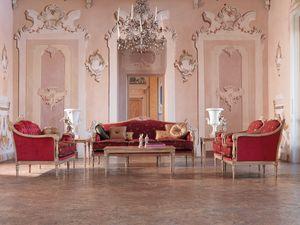 Veronica sofa, Sofás con botones, de lujo clásico salas de estar