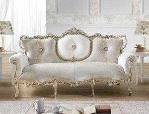 VINTAGE, Sofá barroco, con Swarovski