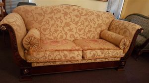 2880 SOFA, Sofá clásico con tela floral, precio rebajado