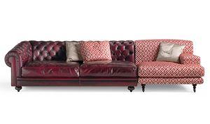 6701 Collage/2, Sofá modular, con un diseño clásico alternativo